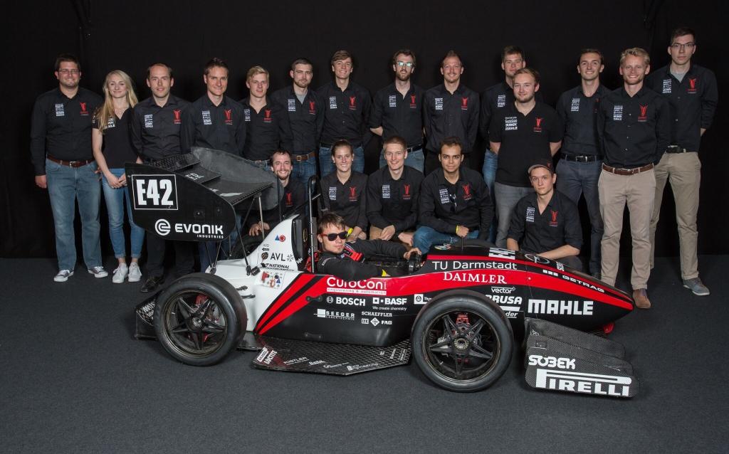 Student Racing Team der TU Darmstadt Saison 2015