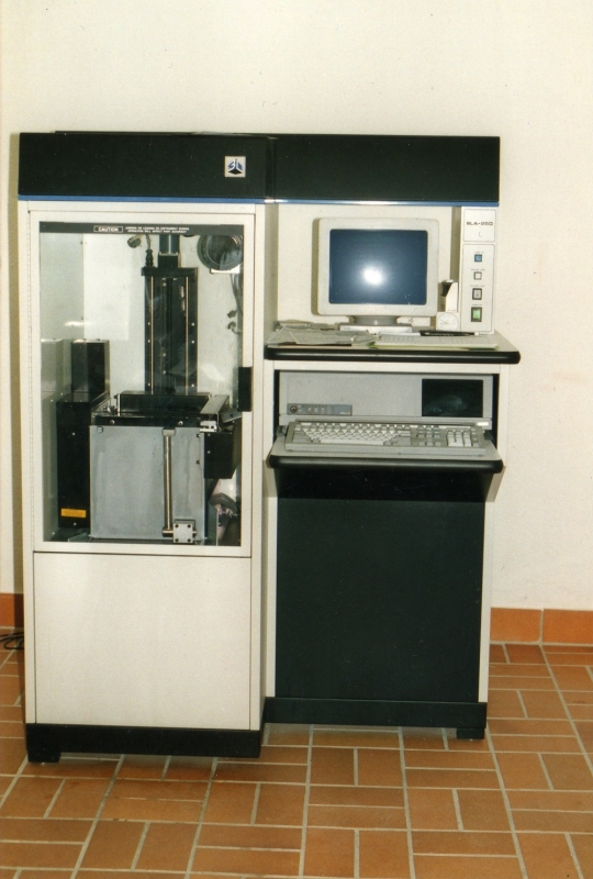 Kegelmann Technik 1991 in Hanau mit Stereolithografie