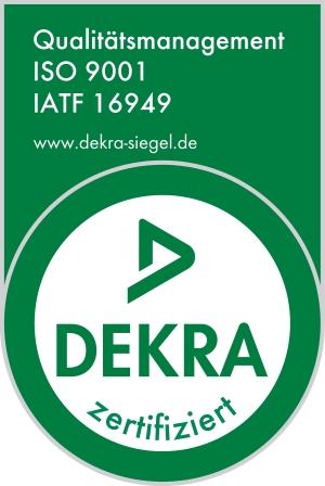 Kegelmann Technik Zertifizierung IATF 16949 ISO 9001