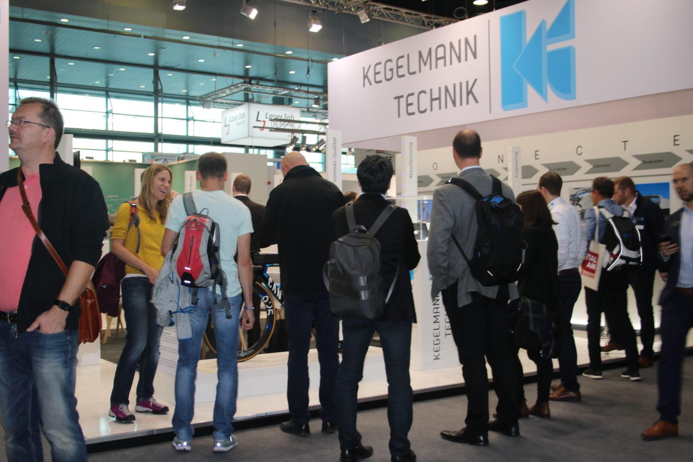 """Formnext 18 - viel Interesse am Stand der Kegelmann Technik GmbH mit dem Thema """"Ironman-Qualitäten in der additiven Fertigung"""""""